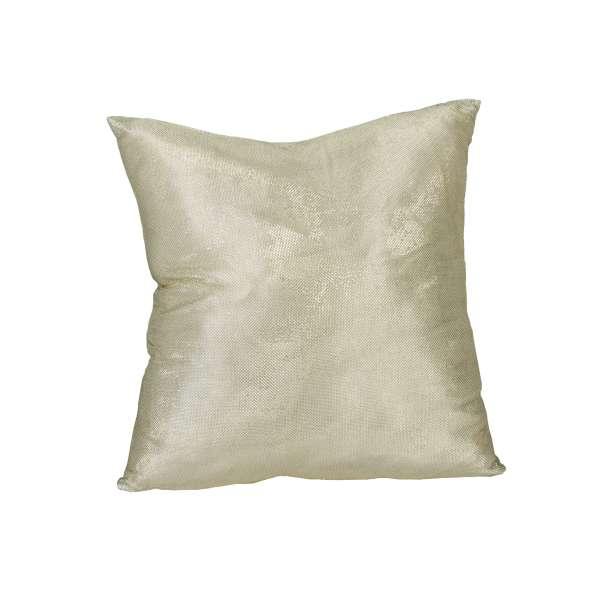 Off White Shimmer Pillow