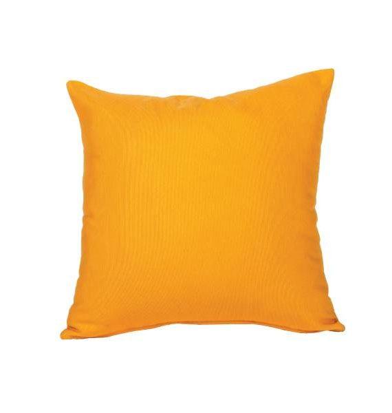 Sunset Orange Pillow
