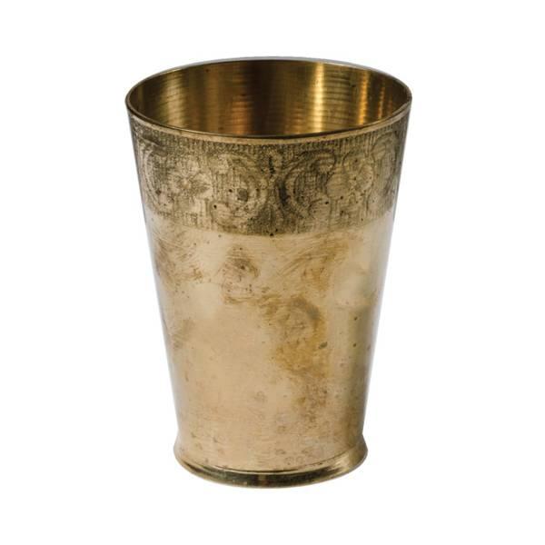 Vintage Copper Glass