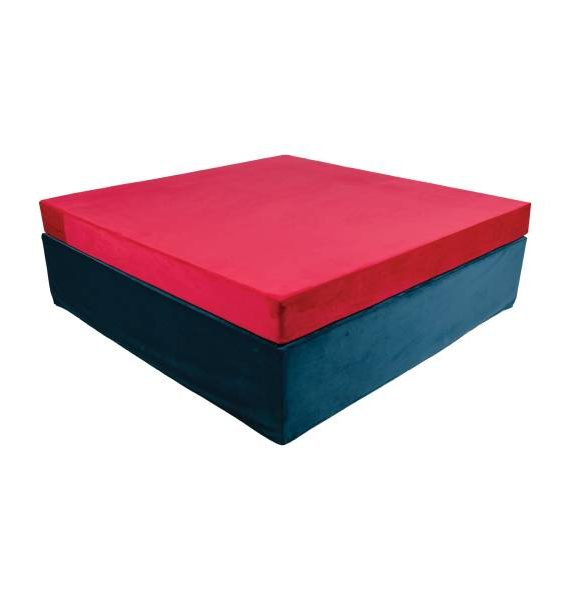 Fuscia King Day Bed -1
