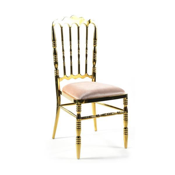 Wellington Dining Chair - Gold