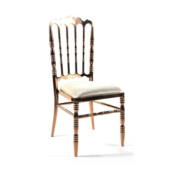 Wellington Dining Chair - Rose Gold