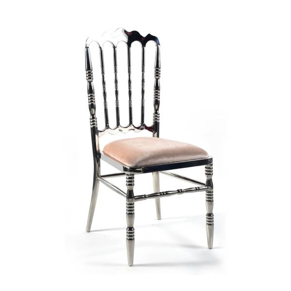 Wellington Dining Chair - Silver