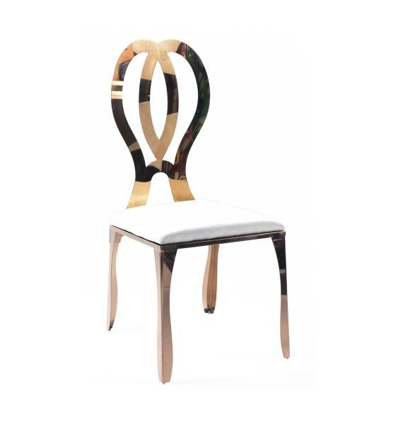 Rose Gold Paris Dining Chair