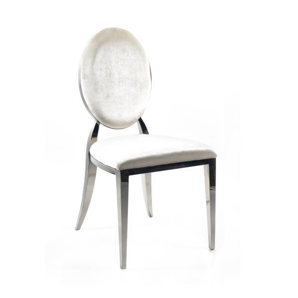 Silver Washington Dining Chair