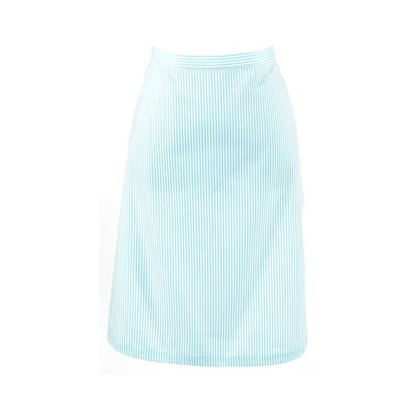 Apron - Blue and White Pattern